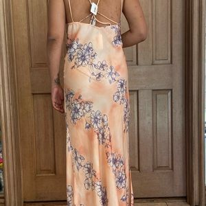Free People Dresses - free people maxi slip dress